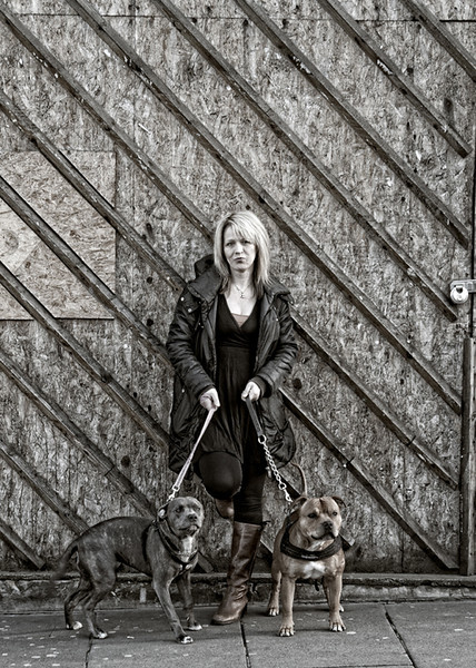 The Dogz - Edinburgh - Street Portrait