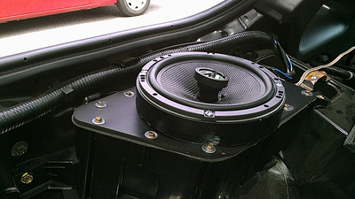 1995 Nissan 300ZX 2+0 (Bose system) Rear Speaker Installation - USA