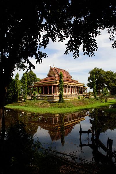 Krabei Riel Pagoda, Cambodia