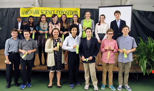 Aardvark Science Expo Awards 2015