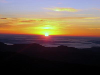 Mt. Washington sunrise hike: Nov. 11