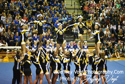 11-12-2016 Richard Montgomery HS at MCPS Cheerleading Championship Division 1 at Montgomery Blair HS, Photos by Jeffrey Vogt Photography