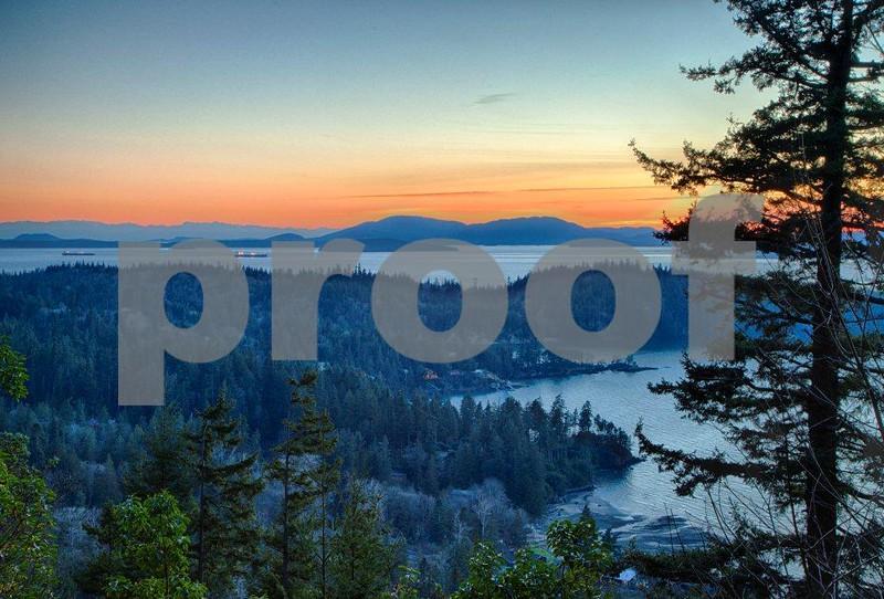 Chuckanut Bay, oil, sunset  2107_HDR.jpg