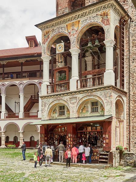Rila Monastery gift shop