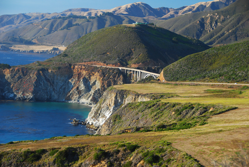 A view from Highway 1.