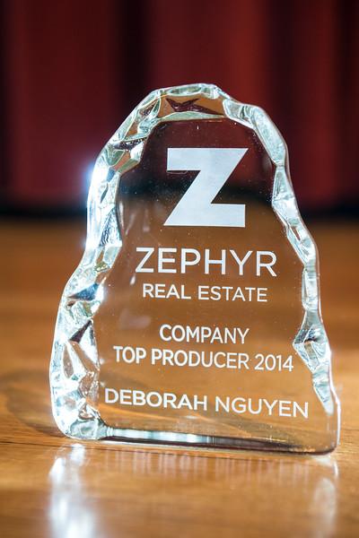 Zephyr Top Producers awards presentation Jan 2015