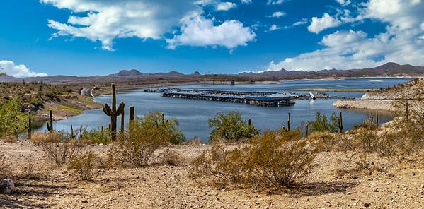 Lake Pleasant Arizona October 2020