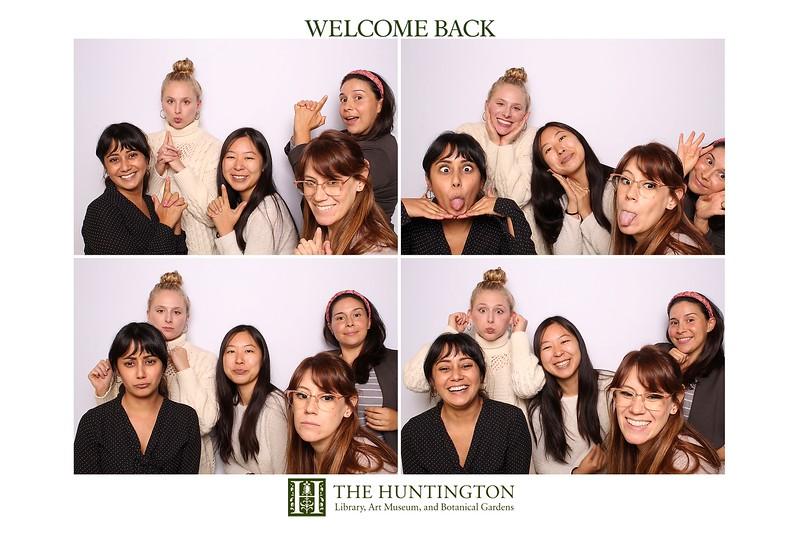 Huntington Library Welcome Back! ( Studio Booth)
