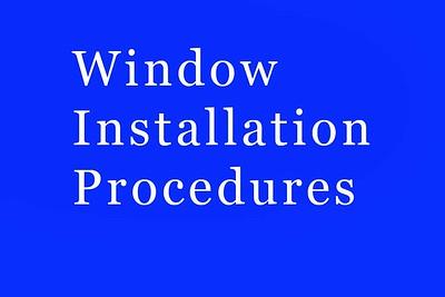 Window Procedures