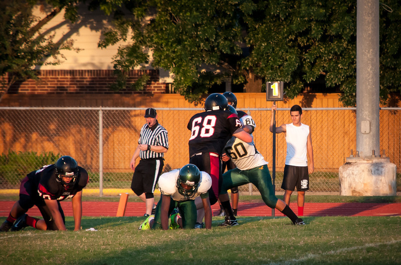 EJ's Lobos vs Eagles Football Game
