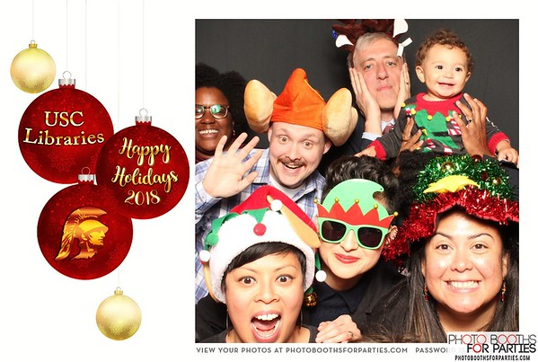 USC Libraries Holiday Party 2018