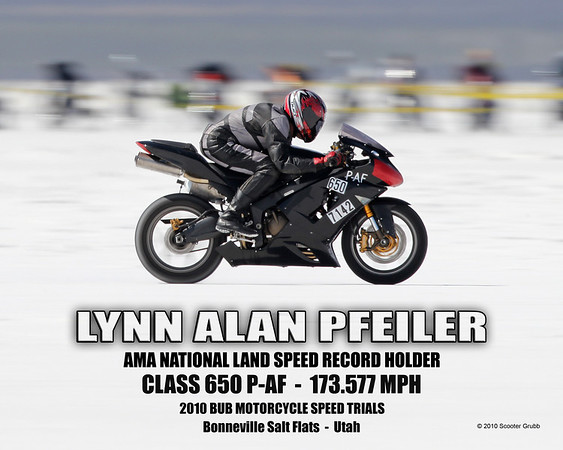 Day 1 --  2010 BUB Motorycycle Land Speed Trials