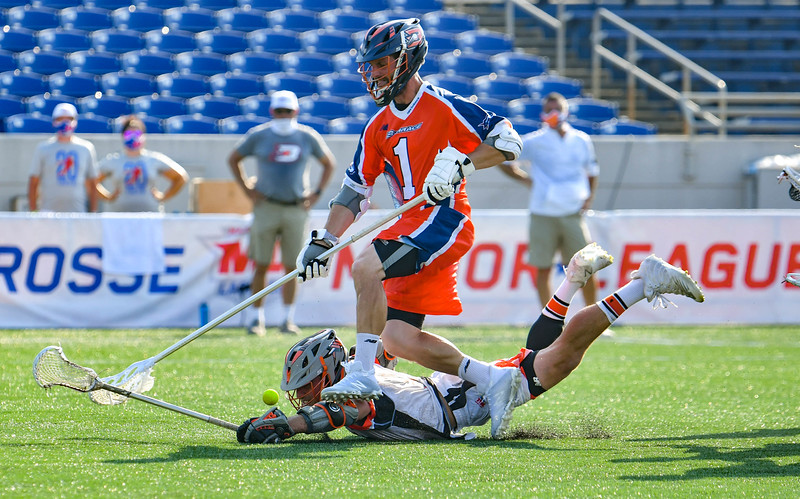 July 19, 2020 Annapolis, MD - Navy-Marine Corps Memorial Stadium Denver Outlaws vs Philadelphia Barrage. Photography Credit: Alex McIntyre