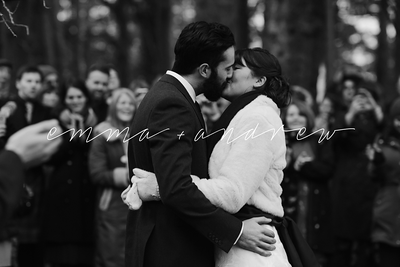Emma + Andrew | Relaxed, Outdoor Winter Wedding at Killearn Village Hall
