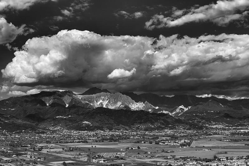 Apuan Alps - Ameglia, La Spezia, Italy - May 30, 2021