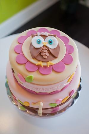 Cupcakebite | Owl Cake