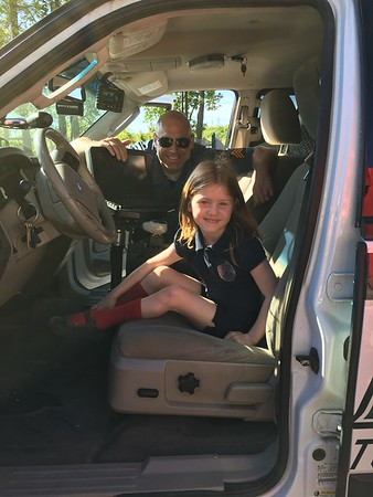 PreK learns about Police Officers