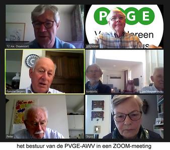 2020-0518 PVGE-AWV bestuursvergadering via ZOOM