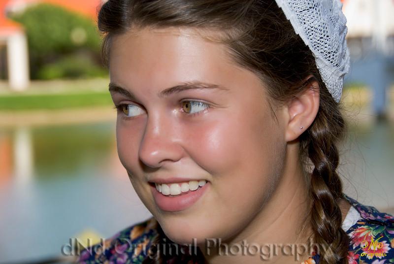 Jessie In Her Dutch Costume