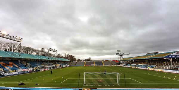 Morton v Dumbarton. Ladbrokes Championship. April 2018.