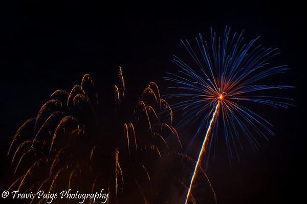 Lebanon Fireworks July 4, 2015