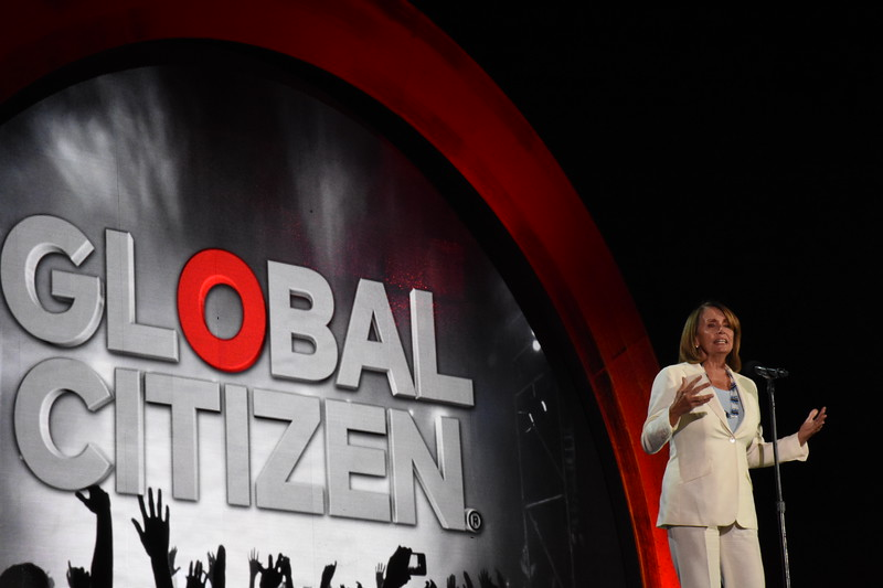 Global Citizen Festival, in New York City, September 24, 2016.