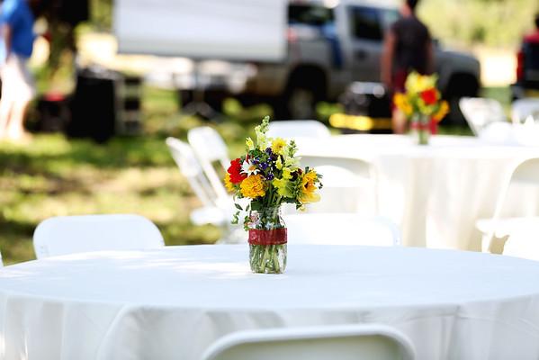 Adams Wedding Party