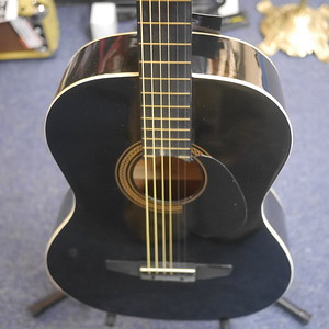 Student Acoustic Guitar - Black