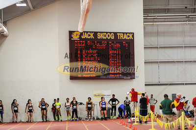 Girls' 60 Meters - 2014 MITS State Meet