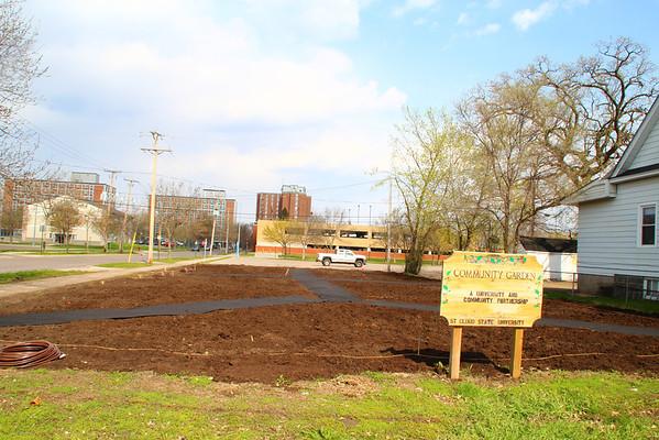 SCSU Community Garden Second Planting Day 2014
