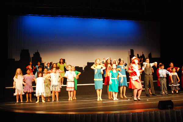 Thoroughly Modern Millie Jr. by Belfry Theater Camp