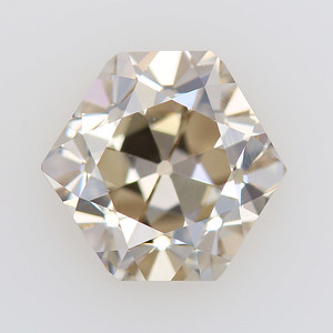 3.05ct Hex Old Cut  Cape brown- VS (No Cert) (RT20-08)