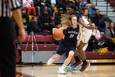 Nazareth girls Basketball vs. Lindblom