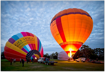 Yarra Valley and Balloons