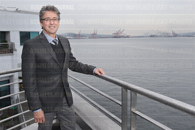 Port of Seattle commissioner Fred Felleman