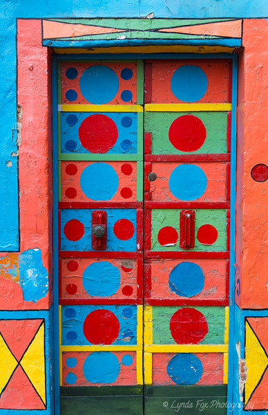 Art Deco Colorful Door