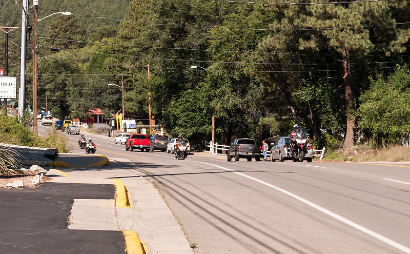 Ruidoso NM,  Bike Week, 9-22-2018