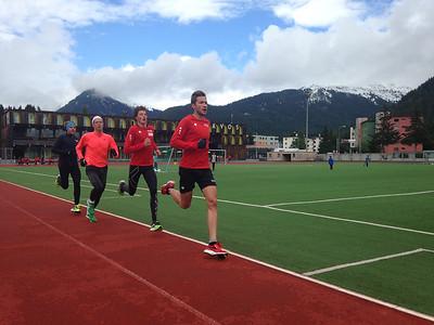 Trainingslager Davos Juli
