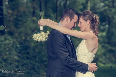 Huwelijk Debbie & Tim