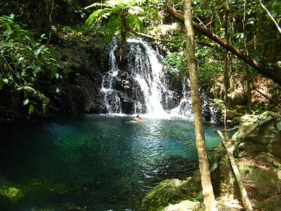 Ruins and Waterfalls