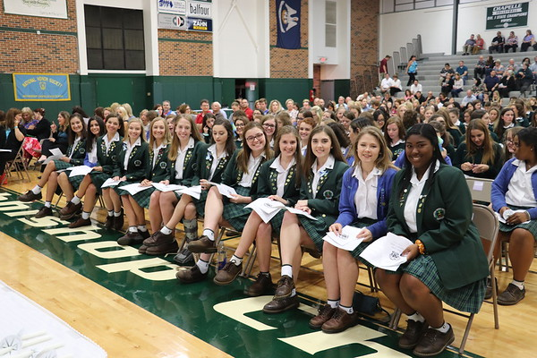 Honor Society & Ambassador Inductions 2018