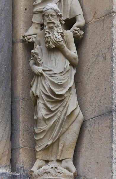Bamberg. Dom: Fürstenportal, rechtes Gewände, rechter Prophet (Kopie)