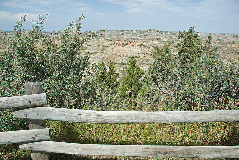 North Dakota badlands in Theodore Roosevelt National Park
