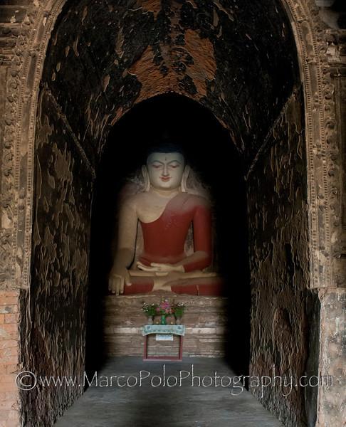 "Buddhas of Bagan #4. 15"" x 19"""