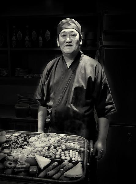 Oden Master. Tokyo.