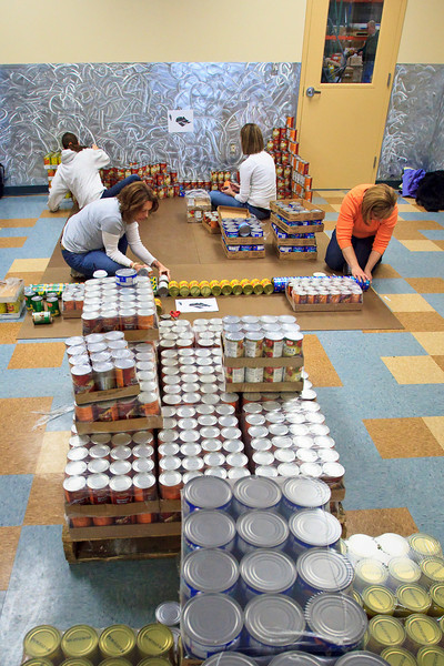 Canstruction (March 2010)