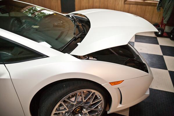 2009 Lamborghini Gallardo lp560-4 with White Matte Finish