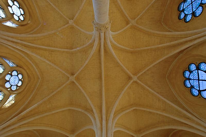 Soissons, Saint-Jean-des-Vignes Abbey Refrectory Vaults