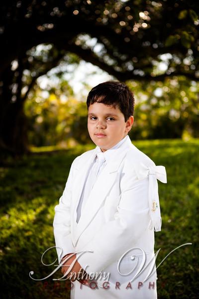 Sebastian Communion Portraits