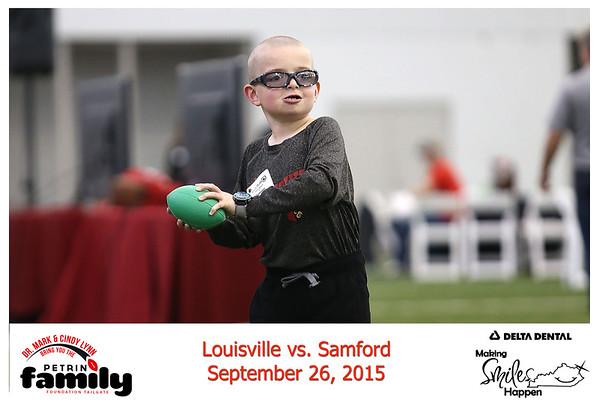 Saturday Sept. 26, 2015. UofL vs Samford Bulldogs